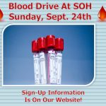 SOH Blood Drive Is September 24th